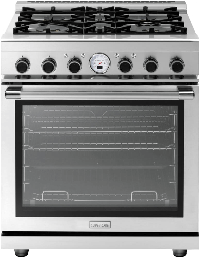 "Range NEXT 30"" Dual-Fuel Stainless steel, Stainless steel"