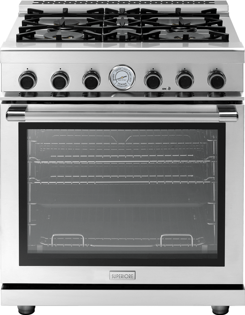 "Range NEXT 30"" Panorama Stainless steel, Stainless steel"