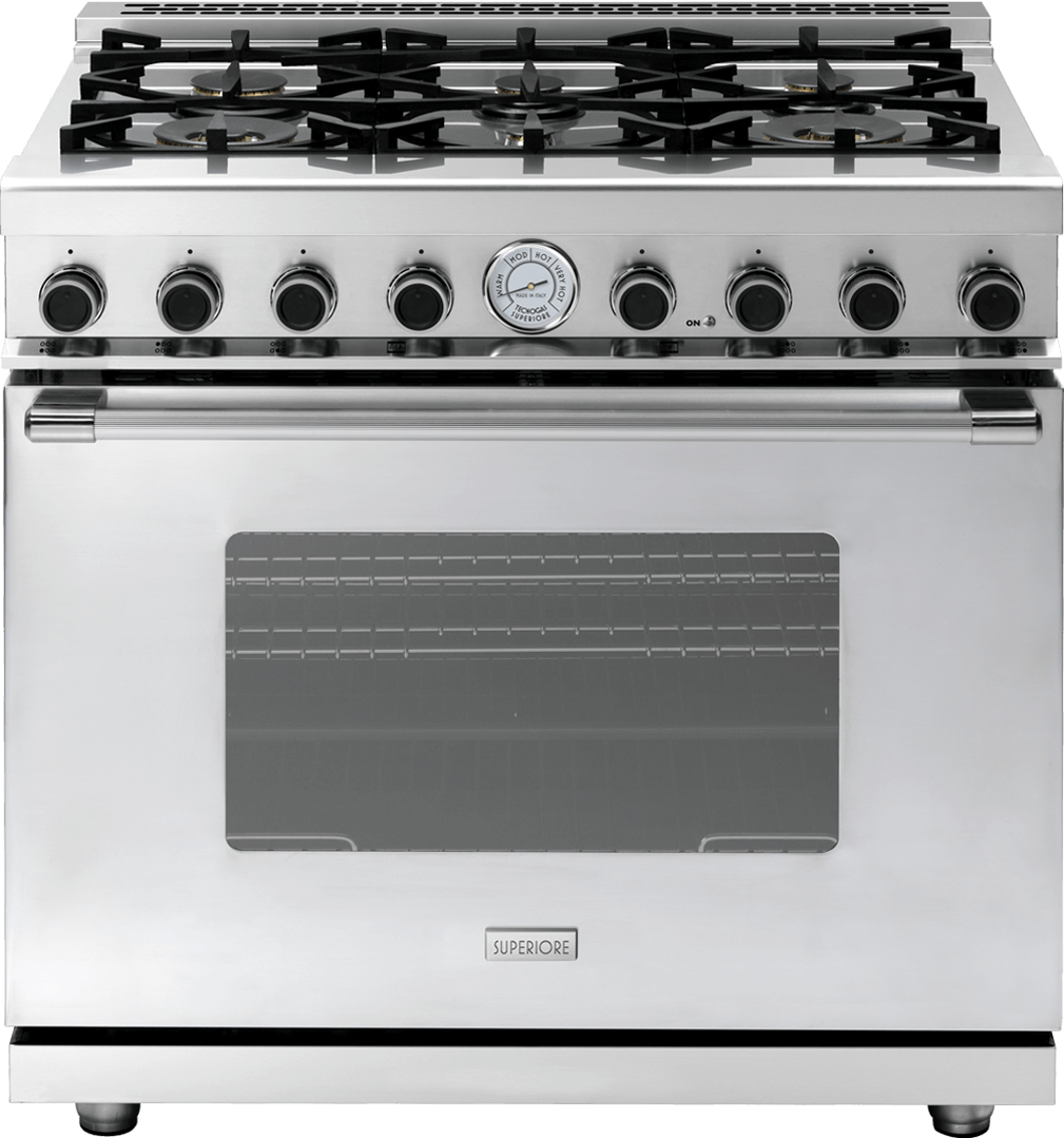 "Range NEXT 36"" Classic Stainless steel, Stainless steel"